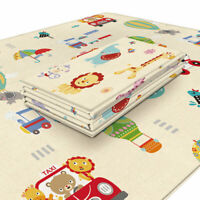 Large Baby Kids Play Mat Crawling Educational Play Soft Foam Foldable Carpet