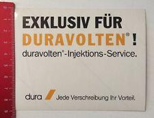 Aufkleber/Sticker: Duravolten Injektions Service - Dura  (1003161)