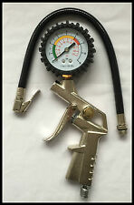 New Air Compressor Pressure Meter Gauge Car Van Truck Tyre Air inflator Dial gun