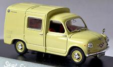 Seat Formichetta Van 1964 Cream Yellow 1:43 Solido 4587