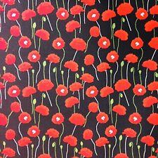 5.11 EUR//Meter Fertigbündchen College Streifen schwarz Cuff Poppy