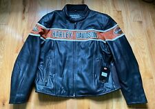 Harley Davidson Men's Screaming Eagle Racing Leather jacket size 3XL