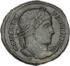 CONSTANTINE I the GREAT Ancient Roman Coin Wreat of success  i40592