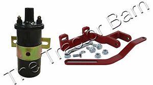 12 Volt Distributor Coil & Alternator Bracket Kit International 100 200 A B 6V
