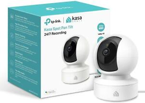 TP-Link KC115 Kasa Smart  Baby Monitor Security Camera 360°rotational views UK