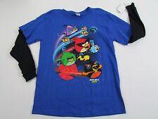 Boys Angry Birds Shirt Size Large 14/16 nwt