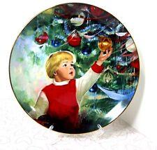Vtg Plate Erik's Delight By Donald Zolan Wonders of Youth Danbury Mint #6387