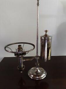 Antique Cleveland Non Explosive Student Lamp