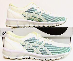 Asics Womens Gel-Quantum 360 CM Shoes Sz(8.5) Cream/H.Yellow 1022A121-100 NIB
