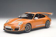AUTOart 78148 Porsche 911 (997) GT3 RS 4.0 2011 in orange 1:18 NEU OVP