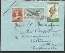 NEW ZELAND TO USA AIRMAIL COVER 1959 DAVENPORT CANCEL