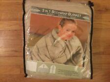 """Bodywrap Blanket 3-in-1 - Blanket, Poncho, Wrap - 47"""" x 59"""" - New"""