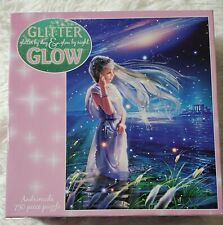 CEACO Glitter Glow 750 Piece Puzzle ANDROMEDA Made In USA SEALED New In Box