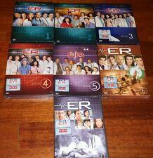 DVD ER MEDICI IN PRIMA LINEA STAGIONI 1 2 3 4 5 6 COMPLETE LOTTO STOCK SIGILLATI