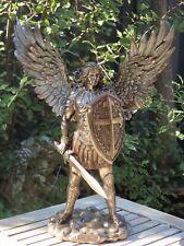 Archangel Michael ~ Veronese Collection 35cm Tall Bronzed Statue