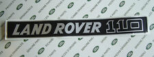 Land Rover Defender 110 V8 TDI Abzeichen Motorhauben Aufkleber Label
