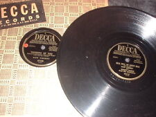 78RPM 2 Don Cherry on Decca, Cara Bella, Thinking of U, Belle, Here in My Arms V