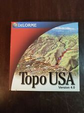 DeLORME TOPO USA *Entire USA*  VERSION 4.0 7 Disk Set  WINDOWS