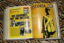 Lote revistas Historia magazine 2E guerre mundiale 1969-1970