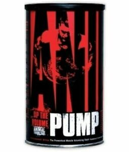 Universal Nutrition Animal Pump 30 packs Pre Workout Muscle Build, Animal Pump