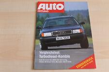 90915) Audi 100 Avant TDI - Sonderdruck - Autozeitung 20/1992