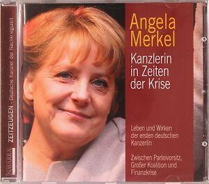 Angela Merkel - Kanzlerin in Zeiten der Krise - Hörbuch - HB1082
