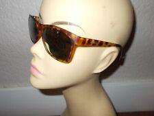 MARIKA MK53301 Matte Tortoise Frame Gold Mirror Lenses Sunglasses