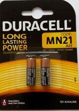 2 x Duracell MN21 MN 21 V23GA A23 12V Alkaline NEU Blister
