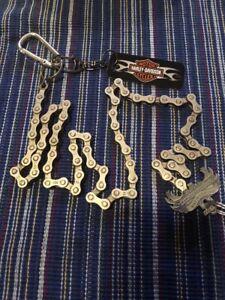 Bike Chain Key Ring