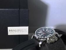 Haurex Italy Men's Aeron  Black Dial Watch  1A321UN1