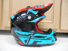 FLY RACING F2 CARBON MOTOCROSS RIDING HELMET DIRTBIKE XS X-SMALL OFFROAD QUAD MX