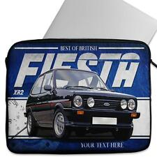 Personalised Laptop Cover FORD FIESTA XR2 Neoprene Sleeve Classic Car CL16