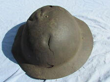 CASQUE BRODIE ANGLAIS / CANADIEN TOMMY  WW1  BATAILLE D'ARRAS