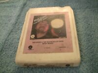 "Bob Seger & The Silver Bullet Band ""Night Moves"" 8 track tape with"