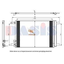 Kondensator Klimakühler Klimakondensator Klimaanlage VAG inkl. Trockner
