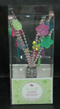 Two's Company - Beaded Bottle Stopper Set - Pink & Blue