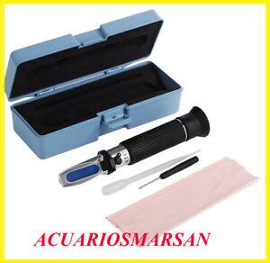 Refractometer, hydrometer ,salinometer meter salt marine aquarium FISH TANK
