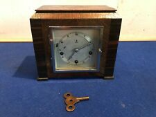 Rare miniature Gustav Becker Westminster Chimes mantle clock