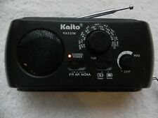 Kaito Model KA332W AM/FM/NOAA Solar Powered Radio w/Flashlight
