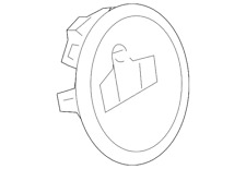Genuine Volkswagen Switch Bezel 3AA-905-219-A-9B9