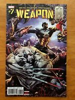 Weapon H 7 Philip Tan Main Cover  A 1st Print Marvel 2018 NM+