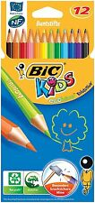 BIC Kid's ECOLUTIONS EVOLUTION matite colorate-diversi colori, confezione da 12