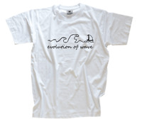 Standard Edition Evolution of wave - surfen surfer T-Shirt S-XXXL