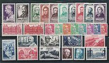 Timbres France neufs - Année 1948 complète