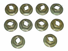 GM Dash Trim Panel Molding Clip Emblem Pal Thread Cutting Speed Nuts 10pcs I