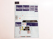 1/8 Ferrari F40 LM 0123 #40 IMSA '90 Decal for Hachette / Pocher / Centauria