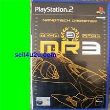 PLAYSTATION 2 MEGA RACE 3 NANOTECH DISASTER PAL PS2 MR3 MegaRace 3 SEALED [BNS]