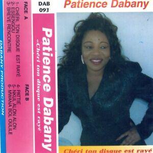 PATIENCE DABANY - Chéri Ton Disque Est Rayé K7 Originale Costa D'Avorio 1995