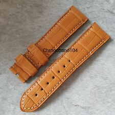 Genuine OEM Officine Panerai 23/20mm Brown Alligator Strap for Pin Buckle