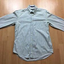 GANT Pinpoint Oxford REGULAR FIT Button Down Men's Stripe Shirt Size Medium
